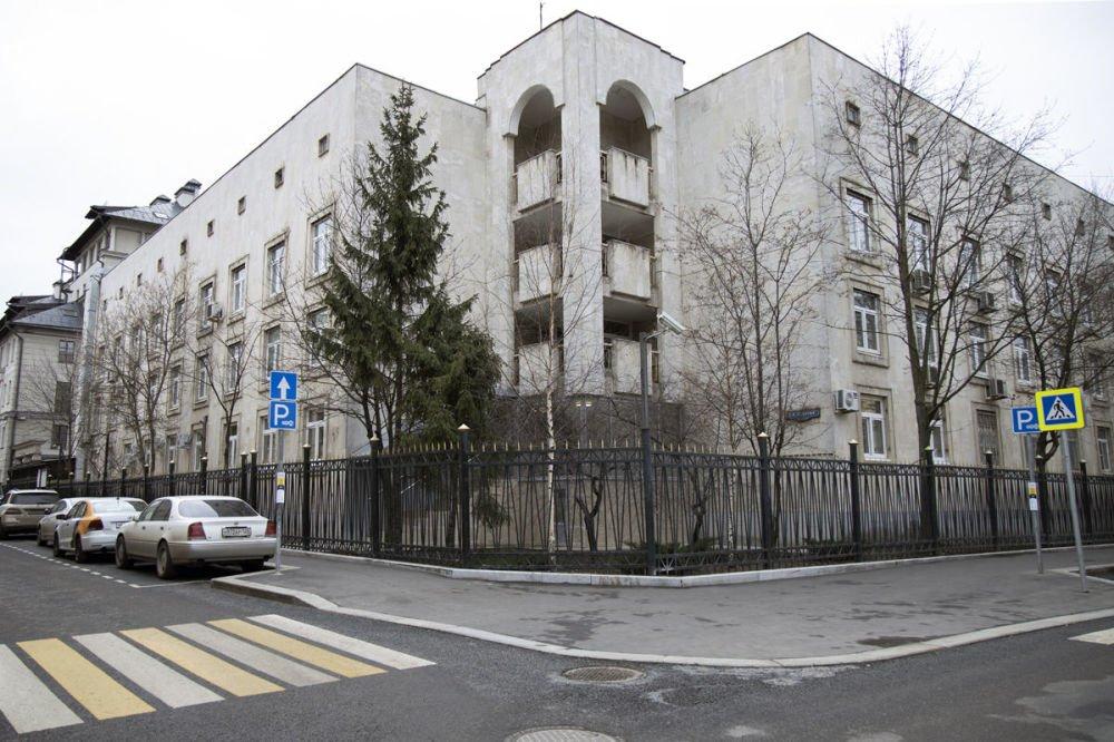 Посольство Республики Узбекистан в РФ, Казачий 2-й переулок, 2