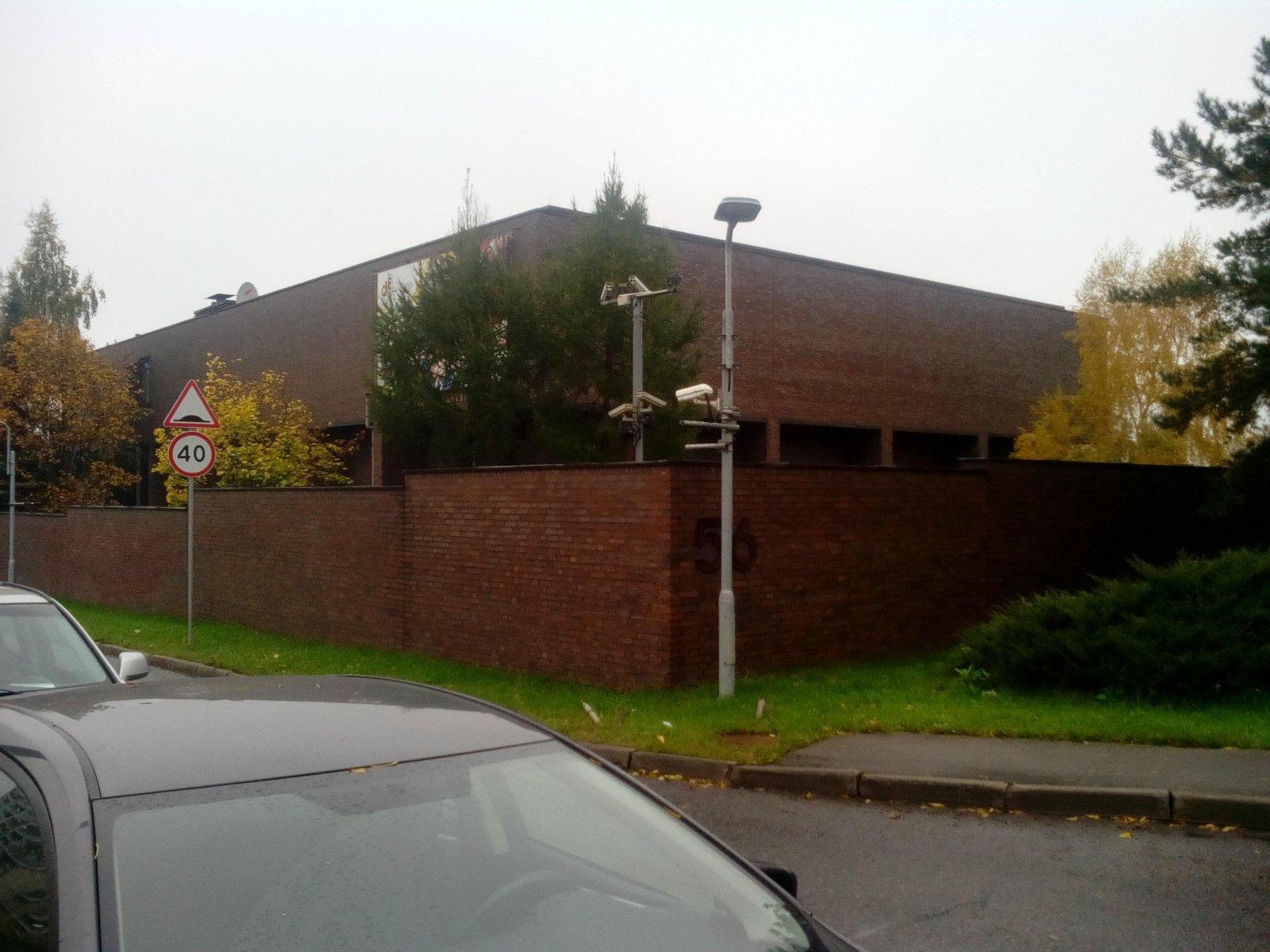 Посольство Федеративной Республики Германия в г. Москве, Мосфильмовская, 56